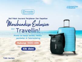Beli Travellin, Bisa bawa pulang Koper!