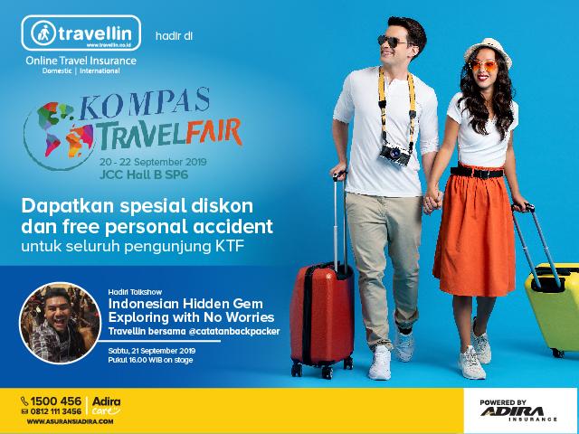 Siap Berburu Tiket Liburan di Kompas Travel Fair?